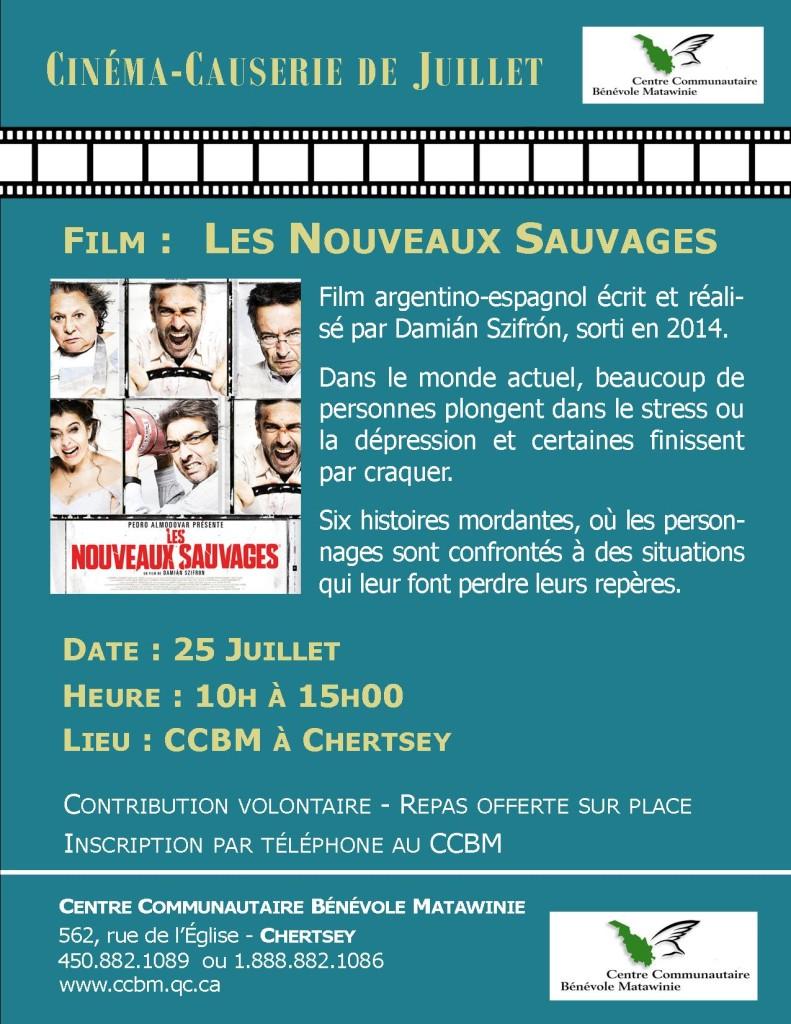 Invitation FILM LES NOUVEAUX SAUVAGES