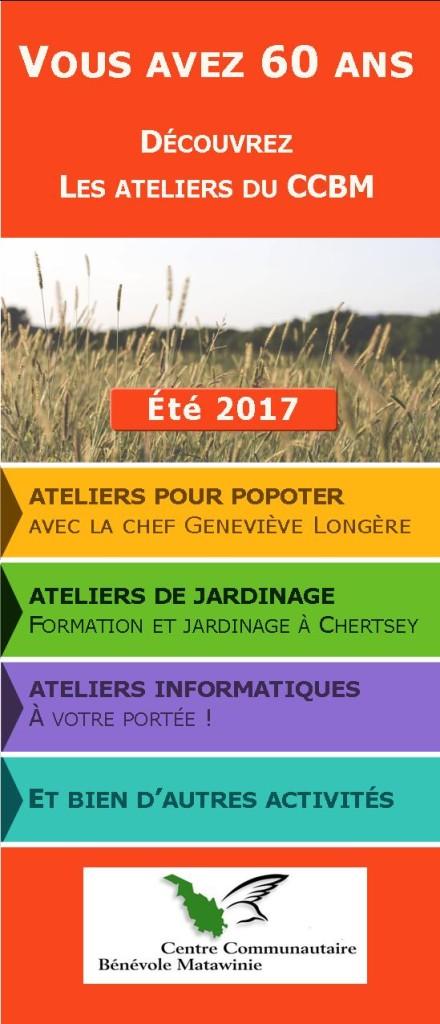Page 1 Depliant ÉTÉ 2017
