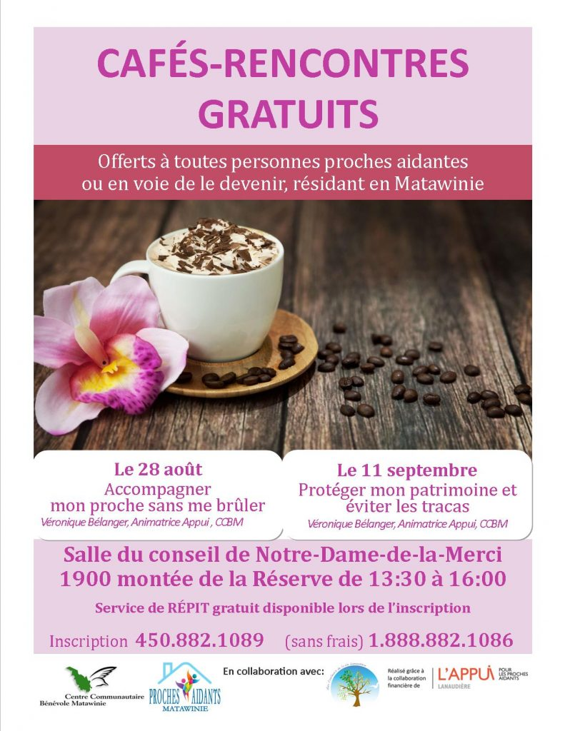 cafés-rencontres gratuits
